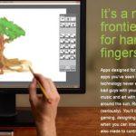 手と指の動きを感知し立体的な操作ができる[leapmotion]