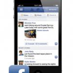 最近Facebookアプリのタイムラインが変!?こんなトリックが?