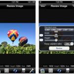 iPhoneで撮った写真をリサイズできる無料アプリ[Resize Image]