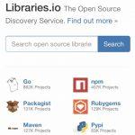 様々なOSSライブラリを探せるLibraries.io