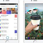 Facebook messengerにSnapchatの機能登場
