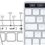 外付けキーボードにTouch Barの特許申請