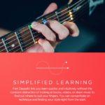 Fret Zeppelin 革新的なLEDシステムでギターを学習しやすく