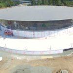 最新のApple Park ドローンツアー: Steve Jobs Theatreを撮影
