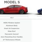 テスラ、モデル3ホイールオプション、オプションのガラス屋根、コイルサスペンションを確認