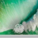 iPhone 8 は光学式指紋センサーを使用してOLED画面上にTouch IDを直接表示