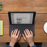 Logitech、新しい2017 iPad用の4年間のバッテリー寿命を備えたSlim Folioキーボードケースを発売