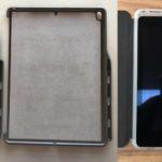 写真は新しい10.5インチと12.9インチのiPad Proのケース