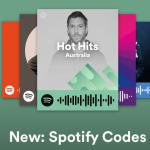 容易な共有と発見にスキャン可能な「Spotify Codes」を開始するSpotify