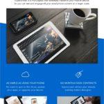 iPhone やAndroidに接続できるポータブル・タッチスクリーン・ディスプレイSuperscreen