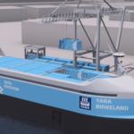 2018年に稼働予定の新しい全電気および自律貨物船が計画