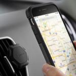 Spigenの超スリムなKuel QS11磁気自動車のiPhoneマウント
