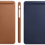 10.5インチおよび12.9インチiPad Proで、革新的なレザースリーブとApple Pencilケース登場!