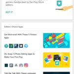 Google Playストア、優秀なアプリのリストを含むエディターズチョイスセクションの改訂