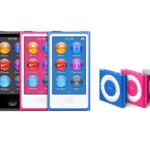 AppleはiPod nano、Shuffleを廃止
