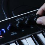 IK、iOS / Mac用の組み込みインターフェースを備えたiRigキーI / O MIDIキーボードを発表