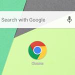 Android用Chrome 60、高速URL入力用の新しい検索ウィジェット