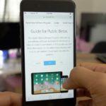 Apple、iPhoneとiPad用の4番目、iOS 11パブリックベータをリリース