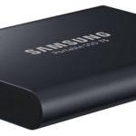 Samsungは新しいT5 USB-Cポータブルドライブを発表。価格は130ドルから