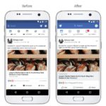 Facebookはニュースフィードインターフェースの変更、カメラの新機能を発表