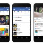 Facebookはウェブ、モバイル、TVアプリに新しい 'Watch'ビデオプラットフォームを提供