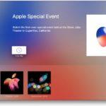 Apple、Apple TVの「Events」にiPhone 8発表イベント追加