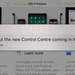 Apple、9月のiPhoneイベントに向け、ヒントアラートでiOS 11の機能を紹介