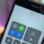 iOS 11コントロールセンターでBluetoothとWi-FiがOffにならない問題は危険!