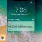 新しいベータ版がiPhone Xのロック画面とホーム画面を披露