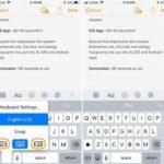 iOS 11:片手でキーボードを使用する方法