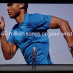 新しいApple Watch Series 3広告ビデオ、LTE接続でApple Musicを視聴