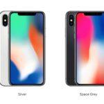 iPhone Xはスペースグレーとシルバーのみで提供!ゴールドカラーオプションはなし