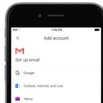 GmailのiOSアプリ、ベータ版のプログラムでサードパーティのメールアカウントへのアクセスを試行