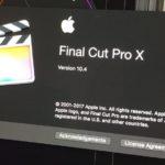 Final Cut Pro 10.4は、VR、HDRワークフローサポート、強化されたカラーツール
