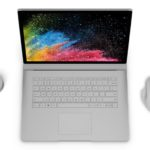 Surface Book 2は、MacBook Proよりバッテリー寿命が70%、画素数が45%多い