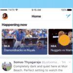 Twitterはイベント特有のつぶやきをハイライトする新しい「Happening Now」機能を発表