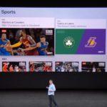 来月、AppleのTVアプリにライブスポーツの統合が見込まれる ザックホール