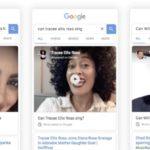 Googleは検索結果をインラインに追加、有名人とのテスト試用で質問に回答⁉︎