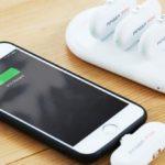 FingerPowはあなたのiPhoneを常に充電し続けるためのワン・スナップ・システム