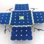 SolarDrone  – 飛行時間を増やすためのソーラーパネルを備えたドローン