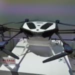 CES 2018で展示された新しいヤマハYMR-01ドローン
