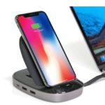 Hyper、コンボ8-in-1 USB-Cハブ+ 7.5W Qiワイヤレス充電器&iPhoneスタンド