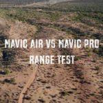 DJI Mavic Air と Mavic Pro の飛行距離 対決!YouTube動画