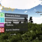 Zephyr、ドローンシミュレータ・アプリで飛行スキルを向上!