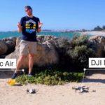 DJI Mavic AirとMavic Proとの比較:強風下での試験