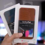 Twelve South、iPhoneX用の新しいSurfacePadレザーカバーを発売!