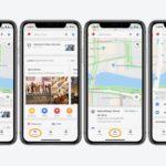Google Maps iOSアップデートでリアルタイム交通情報と運転情報のボトムバーが追加