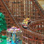 LEGOファンは、90,000ピースを使って、シックスフラッグスのEl Toroジェットコースターを作成
