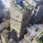 東京は、世界一高い木造の超高層ビルを建設する予定