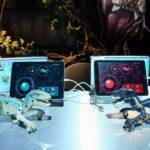 おどる恐竜ロボット、子供がプログラミングを学習できるキット